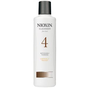 Nioxin 4 Scalp Cleanser - Sampon Anticadere si indesare par fin normal  - 300ml / 1000ml