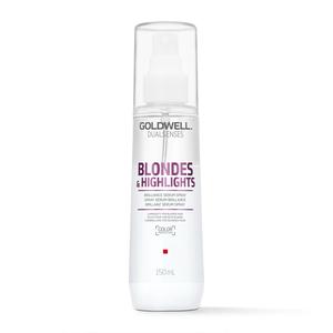 Goldwell DualSenses Blonde Highlights Serum Spray - Spray fara clatire pentru intretinerea parului blond - 150 ml