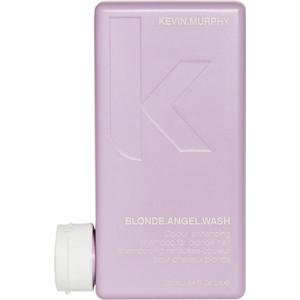 Kevin Murphy Blond Angel Wash - Sampon iluminator cu pigment violet pentru reimprospatarea parului blond - 250 ml