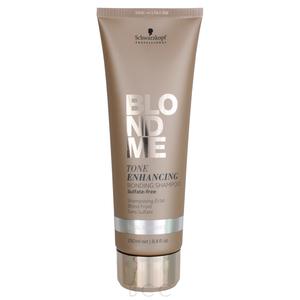 Schwarzkopf Blond Me Color Enhancing Blonde Shampoo Cool Shampoo - Sampon nuantator pentru par blond cu pigment violet - blond rece - 250ml