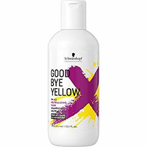 Schwarzkopf Professional GoodBye Yellow - Sampon cu pigment albastru care neutralizeaza nuantele de galben 300 ml
