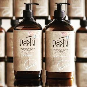 Nashi Argan Kit Promo Sampon + Conditioner pentru toate tipurile de par - 2x500ml Editie limitata