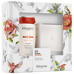 Kerastase Nutritive Spring Gift Set 1x Bain Satin 2 - 250ml 1x Masquintense for thick hair - 200ml