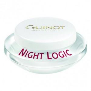 Guinot Creme Night Logic - Crema de noapte pentru reimprospatare si stralucire, pentru fata - 50ml