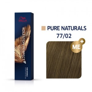 Wella Professionals Koleston Perfect Me Hair Color - 77/02 Intense Medium Blonde/Natural -60 ml