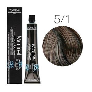 L'Oreal Majirel Cool Cover 5.1 - Saten deschis cenusiu  - 50 ml