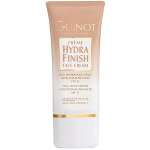 Guinot Hydra Finish - Crema de fata iluminatoare cu factor de protectie FPS 15 - 30 ml