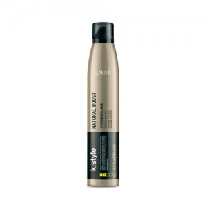 Lakme K.Style Natural Boost Flexible Mousse - Spuma pentru volum cu fixare lejera - 300 ml