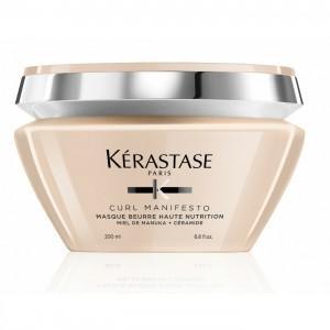 Kerastase Curl Manifesto Masque Beurre Haute Nutrition Mask - Masca pentru par ondulat, cret, foarte cret si spiralat 200ml