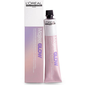 Vopsea LOreal MAJI GLOW LIGHT BASE .02- Natural irizat - Nuanta glow pentru baze deschise de la 6 la 10 - 50ml