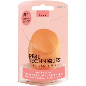 Real Techniques Miracle Complexion Sponge Yellow - Burete de machiaj