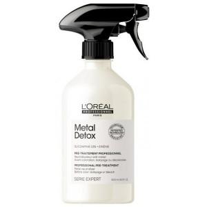 L'Oréal Professionnel Metal Detox Spray Pre-Tratament pentru neutralizarea metalelor 500ml