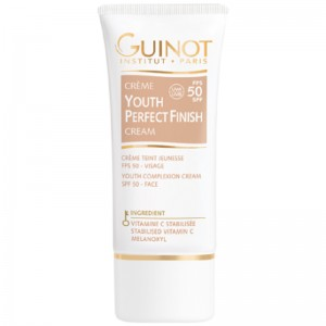 ​Guinot Youth Perfect Finish FPS 50 - Crema cu efect antiageing si luminozitate pentru ten 30 ml