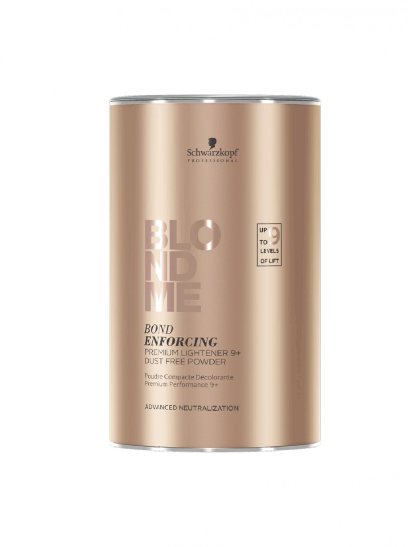 Schwarzkopf Blond Me Premium Lift 9+ - Pudra decoloranta cu agenti de ingrijire  cu pana la 9 tonuri deschidere - 450 g