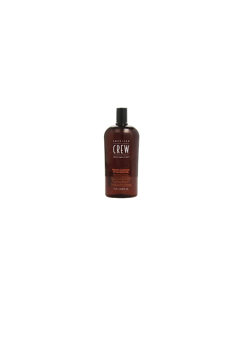 American Crew Classic Power Cleanser Style Remover Shampoo - Sampon purificator ce elimina produsele de styling pentru barbati - 1000 ml
