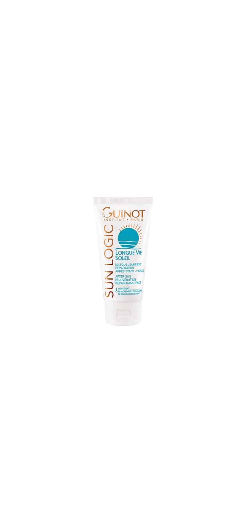 Guinot After-Sun Rejuvenating Mask - Masca dupa expunerea la soare pentru calmarea pielii si intinerire 50ml