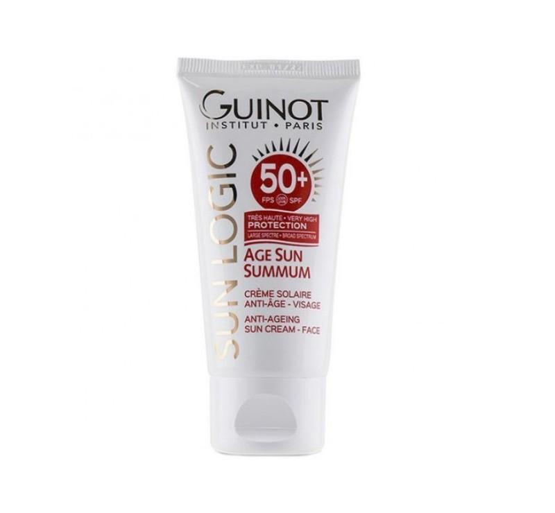 Crema Guinot Age Sun Summum Cream SPF 50 pentru fata - 50ml