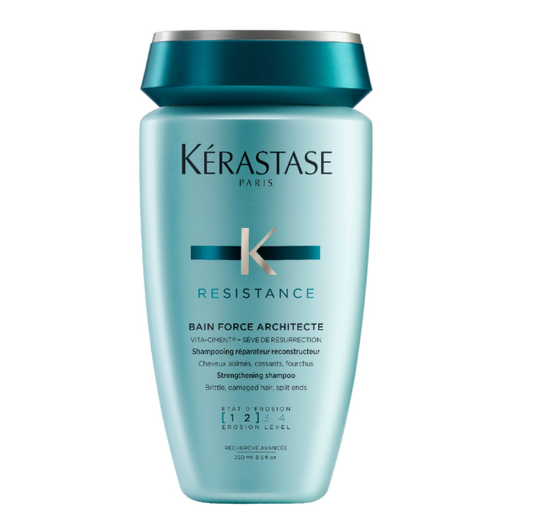 Kerastase BAIN FORCE ARCHITECTE - Sampon reparator pentru par degradat, deteriorat agresat chimic - 250ml
