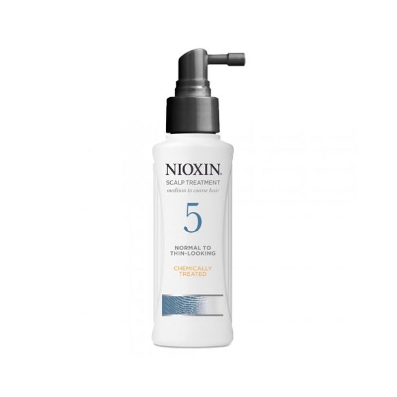 Nioxin 5 Scalp Treatment leave-in - Tratament fara clatire impotriva caderii si regenerarii parului - 100ml
