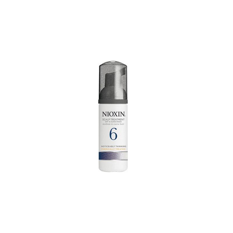 Nioxin 6 Scalp Treatment leave-in - Tratament fara clatire impotriva caderii si regenerarii parului - 100ml