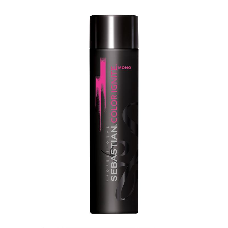 SEBASTIAN ColorIgniteMONO Shampoo - Sampon protector pentru parul vopsit intr-o singura nuanta - 250ml