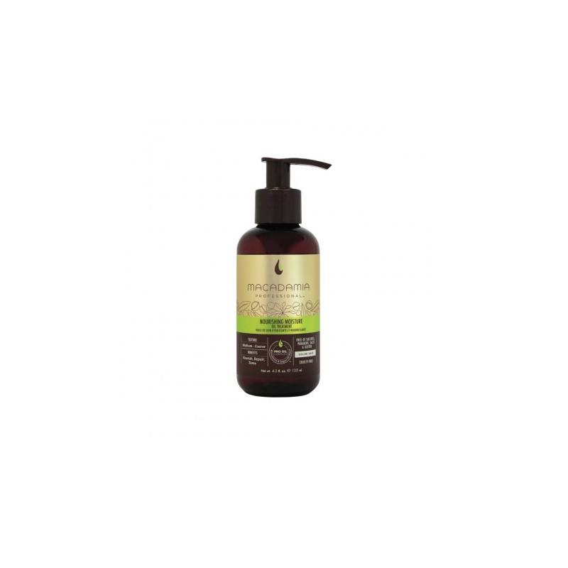 Macadamia Nourishing Moisture Oil Treatment - Ulei hidratant si de reconstructie pentru parul aspru, cu efect de netezire - 125 ml