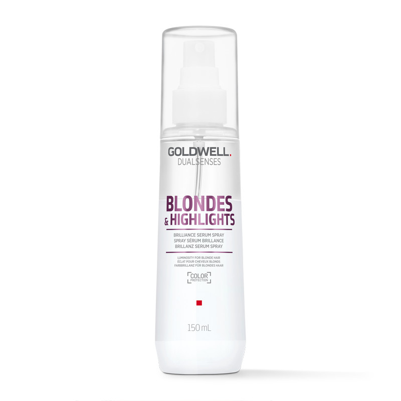 Goldwell DualSenses Blonde Highlights Serum Spray - Spray fara clatire pentru intretinerea parului blond - 150 ml