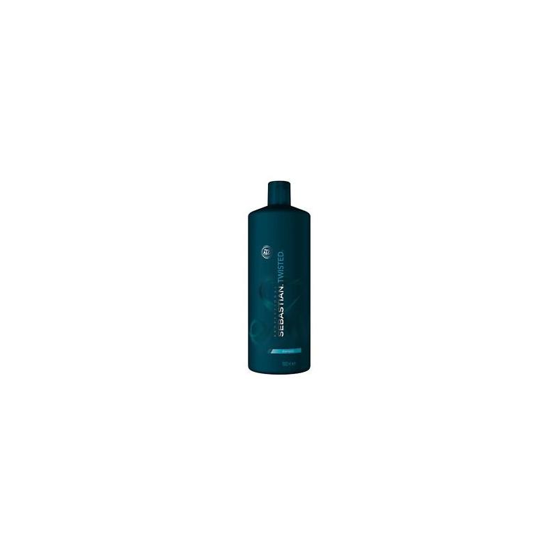 Sebastian Twisted Elastic Curl Cleanser Shampoo - Sampon hidratant pentru parul cret sau ondulat - 1000 ml