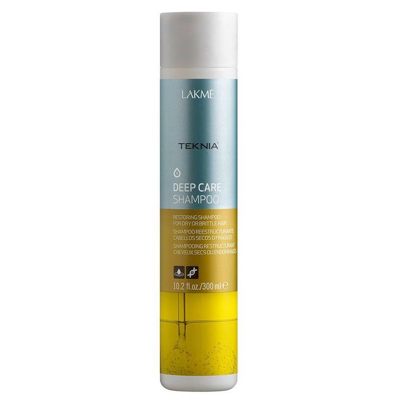 Lakme Teknia Deep Care Shampoo - Sampon de reconstructie pentru parul uscat si degradat - 300 ml
