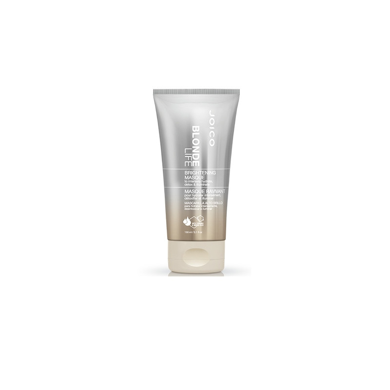 Joico Blonde Life Brightening Mask - Masca intensiv-reparatoare si hidratanta special pentru intretinerea parul blond - 150 ml
