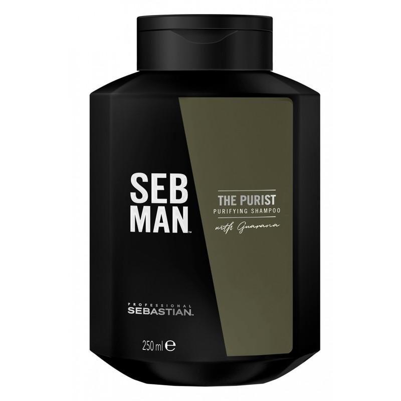 Sebastian Professional SEB MAN THE PURIST Purifying Shampoo - Șampon antimătreață, purificator 250 ml
