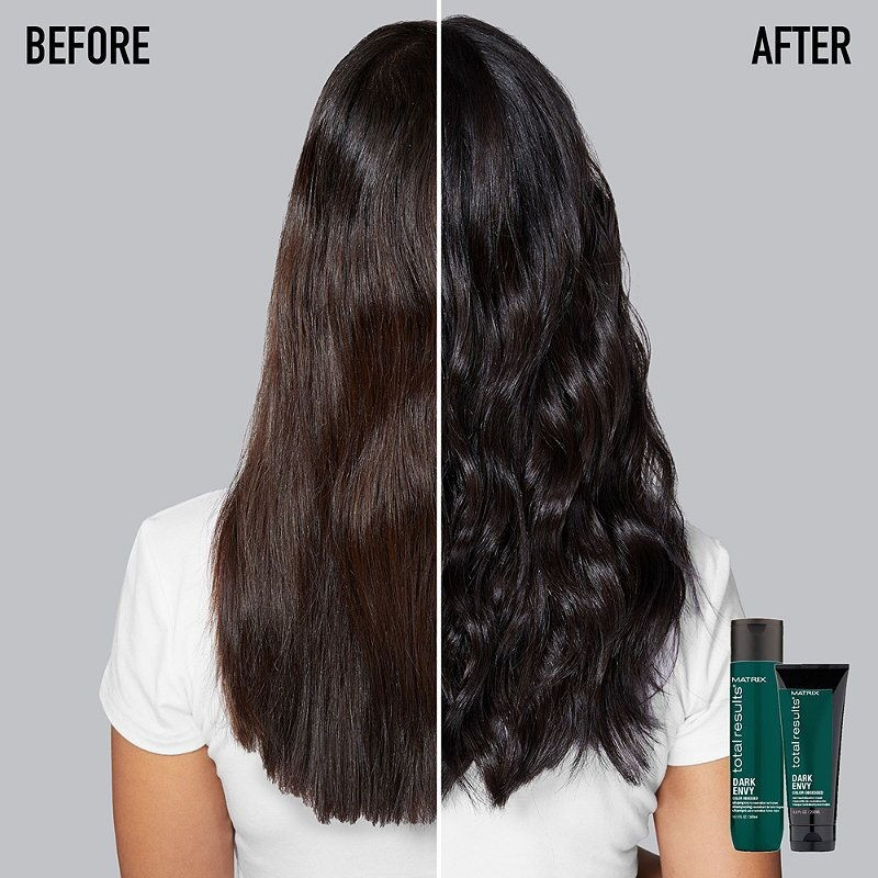 Matrix Total Results Dark Envy Green Shampoo - Sampon pentru neutralizarea reflexelor de rosu in baze inchise -