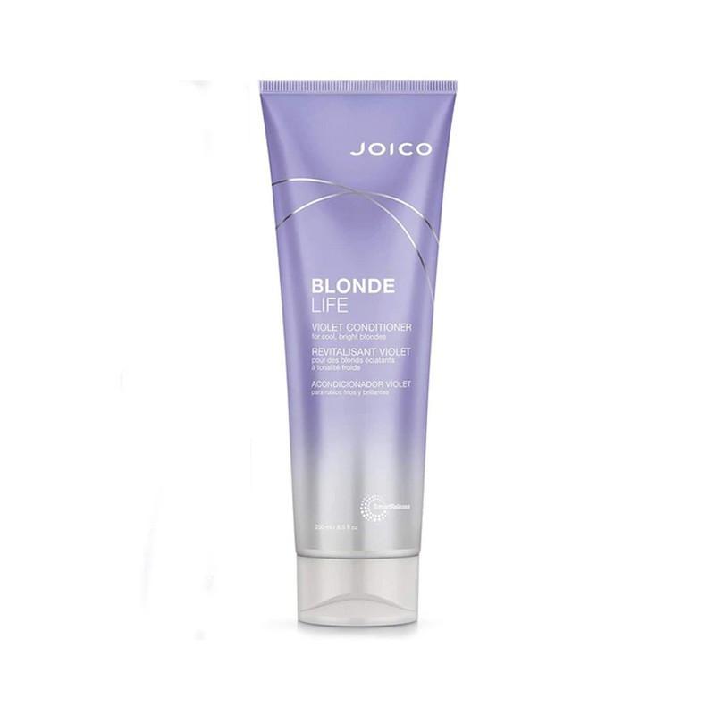 Joico  Contitioner Blonde Life Violet - Balsam cu pigment violet pentru parul blond - 250ml