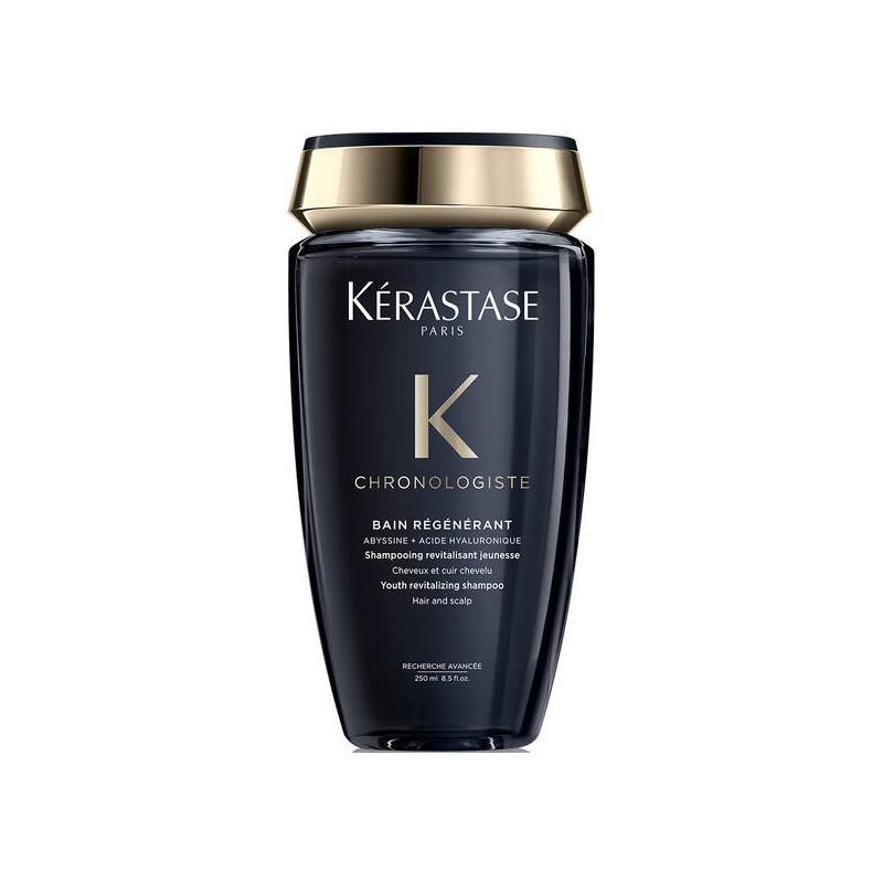 Kerastase Chronologiste Bain Régénérant Shampoo - Șampon revitalizant și revigorant pentru a combate semnele îmbătrânirii scalpului și a părului - 250 ml