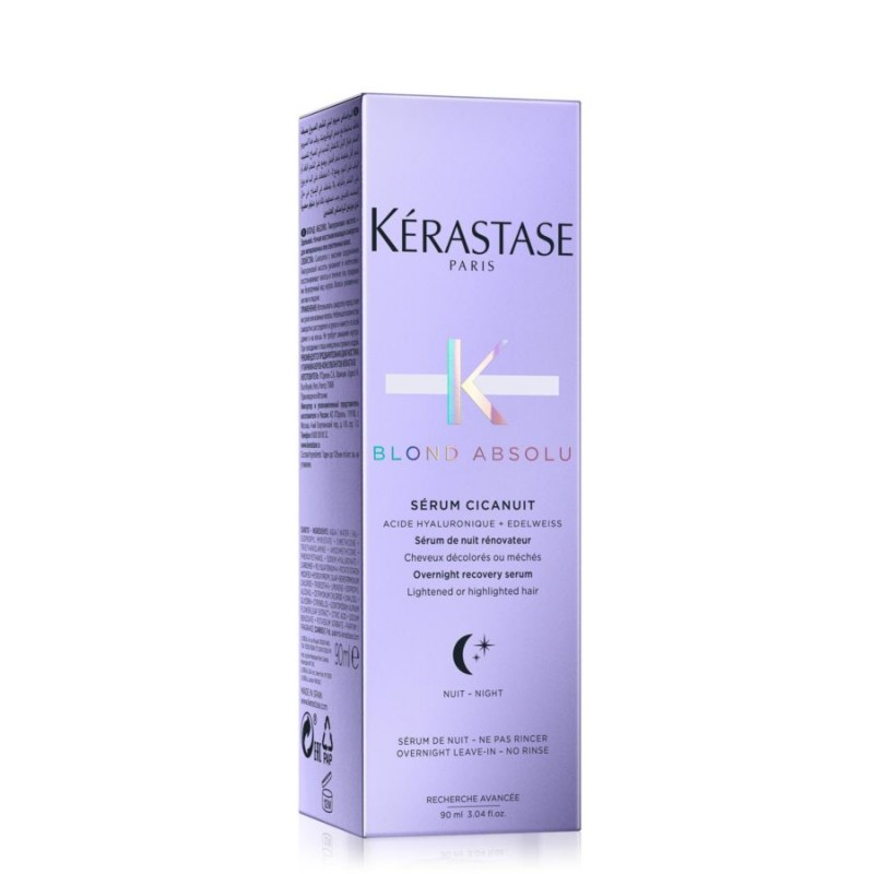 Kerastase Blond Absolu Sérum Cicanuit- Serum pentru reparare intensa pe timpul noptii 90ml