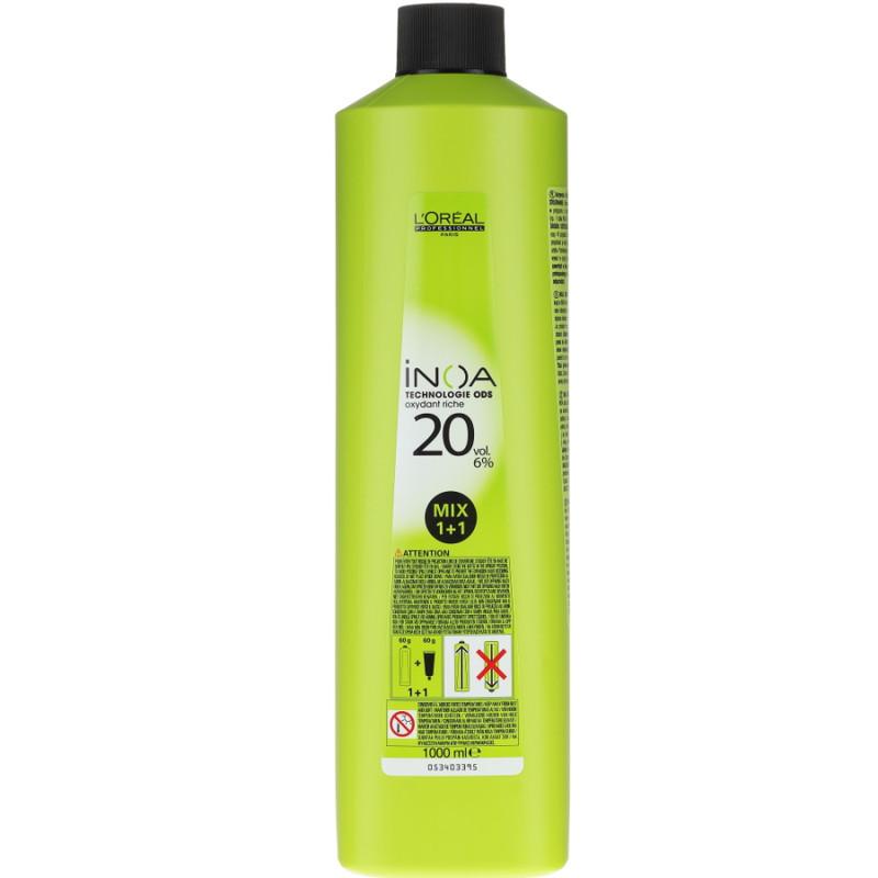 L`Oreal INOA Oxidant crema - 6% 20 vol - 1000ml