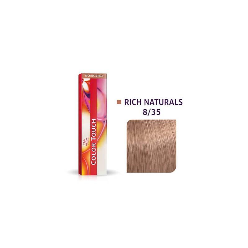 Wella Professional Demi-Permanent Color Touch 8/35 Light blonde/Gold mahogany 60ml