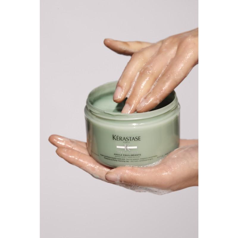 Kérastase Specifique Argile Equilibrante Cleansing Hair Clay- Argilă cu efect de purificare, pentru rădăcini uleioase si lungimi sensibilizate 250ml