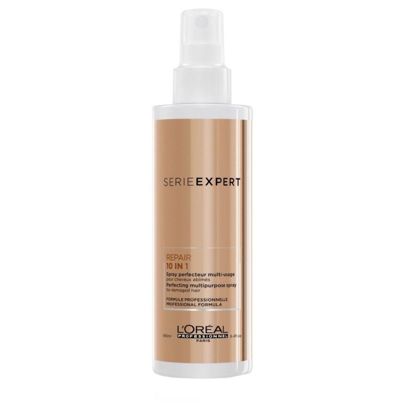 L'Oreal Absolut Repair 10 in 1 Multipurpose Perfector Spray - Spray protector, pentru parul deteriorat fara clatire 190ml
