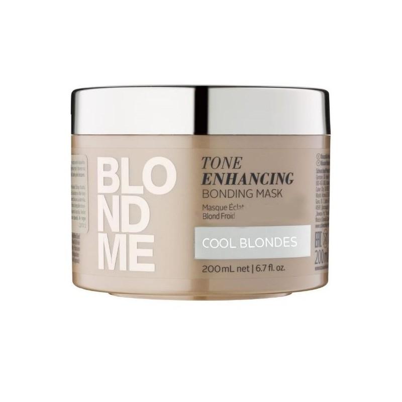 Schwarzkopf Professional Blondme Cool Blondes - Masca hranitoare neutralizeaza tonurile de galben - 200 ml