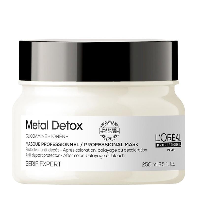 L'Oreal Professionnel Metal Detox Masque - Masca sistem protectie anti-depunere metale 250ml