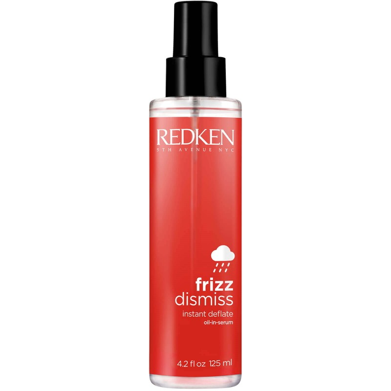 Redken Frizz Dismiss Instant Deflate - Ulei de păr anti-frizz, hidratant cu protectie termica - 125ml