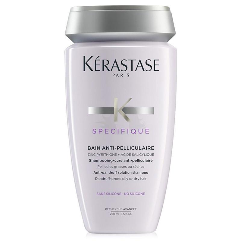 Kerastase Bain Anti-Pelliculaire - Sampon tratament anti matreata pentru scalp gras sau uscat - 250ml