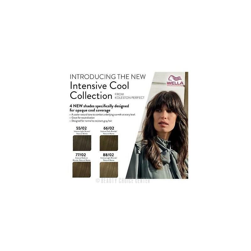 Wella Professionals Koleston Perfect Me Hair Color - 88/02 Intense Light Blonde -60 ml