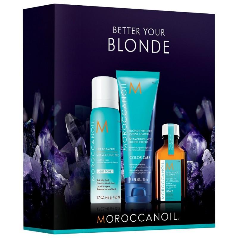 Kit Moroccanoil Better Your Blonde Min