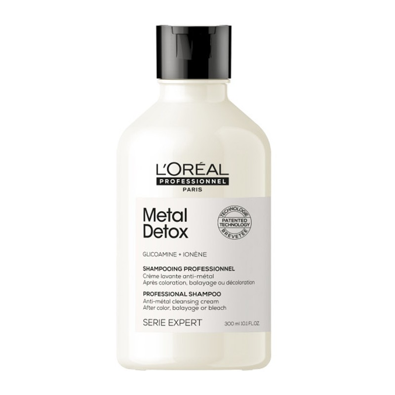 L'Oréal Professionnel Metal Detox Shampooing - Sampon-crema cu sistem pentru curatarea metalelor 300ml