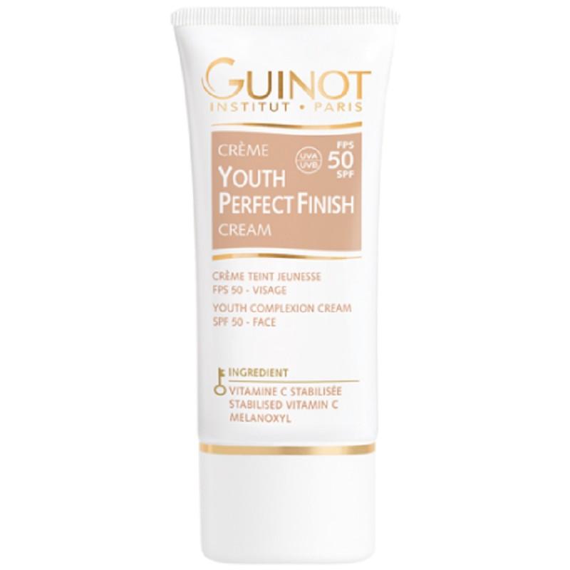 Guinot Youth Perfect Finish FPS 50 - Crema cu efect antiageing si luminozitate pentru ten 30 ml