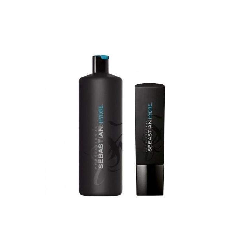 SEBASTIAN Hydre Shampoo - Sampon hidratant pentru parul uscat, rebel cu tendinte de electrizare -  250ml / 1000ml