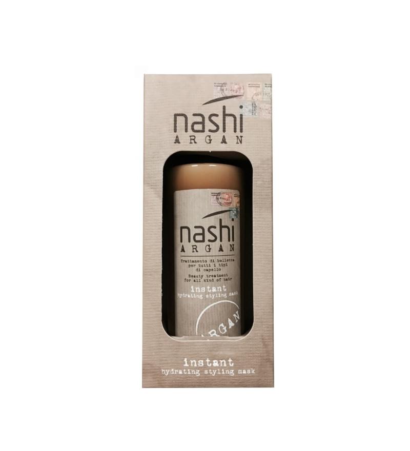 Nashi Argan instant hydrating styling mask - Masca fara clatire pentru toate tipurile de par - 150ml